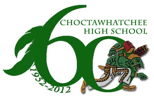Choctawhatchee High School 60th Anniversary Logo