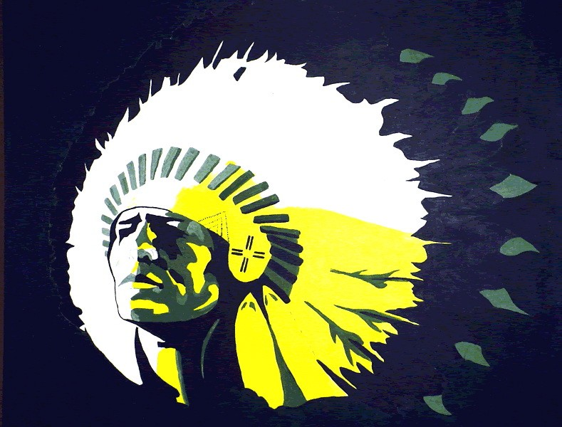 1980 Choctawhatchee High School Indian Graphic