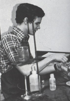 1980 John Stone in Chemistry Lab